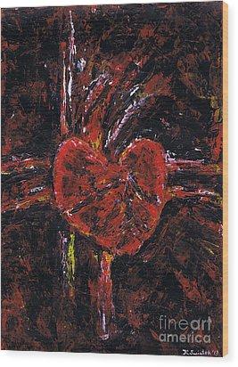 Aneurysm 2 - Middle Wood Print by Kamil Swiatek
