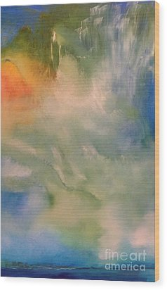 Angel Wood Print by Jane Ubell-Meyer