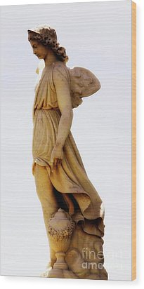 Wood Print featuring the photograph Angel by Lisa L Silva