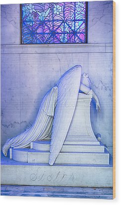 Angel Of Grief New Orleans 2 Wood Print