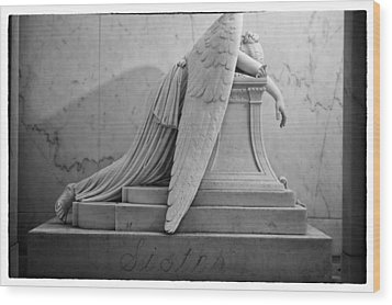 Angel Of Grief New Orleans 6 Wood Print