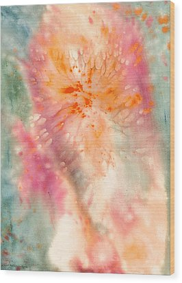 Angel Of Light Wood Print by Lynda Hoffman-Snodgrass