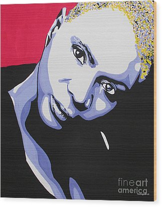 Angelique Kidjo Wood Print
