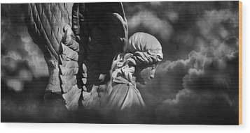 Angel's Flight Wood Print by Marc Huebner