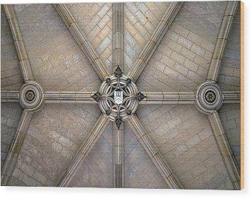 Angles Wood Print by Glenn DiPaola