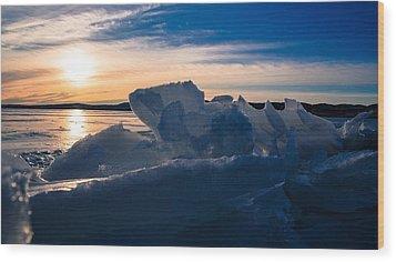 Angostura Ice Wood Print