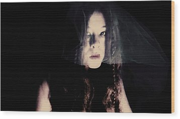 Wood Print featuring the photograph Angry With You  by Jessica Shelton