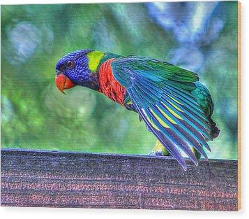 Animal 3 Wood Print