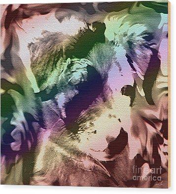 Animalistic Wood Print by Arlene Sundby