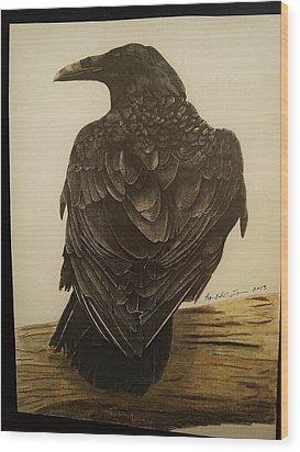 Animals Wood Print by Per-erik Sjogren