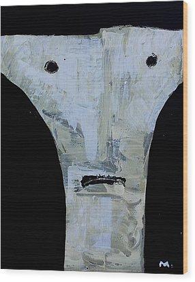 Animus No 15 Wood Print by Mark M  Mellon