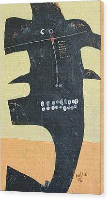 Animus No 23 Wood Print by Mark M  Mellon