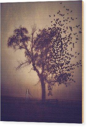 Annabel Lee Wood Print