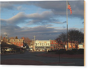 Annapolis Md - 01131 Wood Print by DC Photographer
