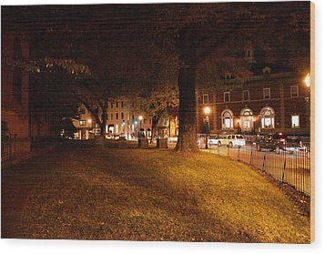 Annapolis Md - 121266 Wood Print by DC Photographer