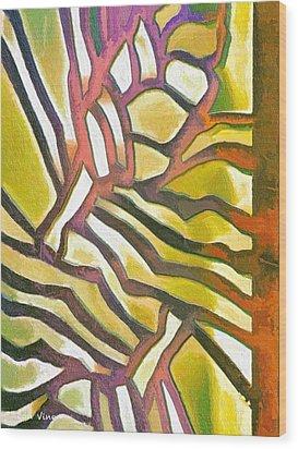Anodyzed Aluminum Wood Print