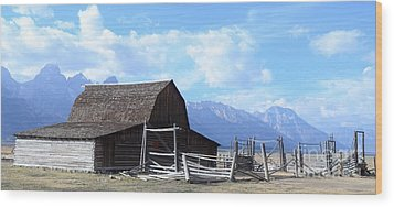 Another Old Barn Wood Print by Kathleen Struckle
