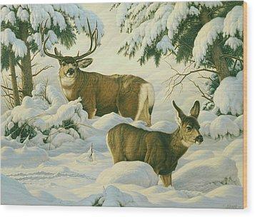 Another Season Wood Print by Paul Krapf