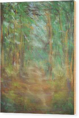 Wood Print featuring the photograph Another Way by Shirley Moravec
