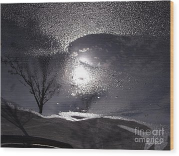 Wood Print featuring the photograph Another World by Lyric Lucas