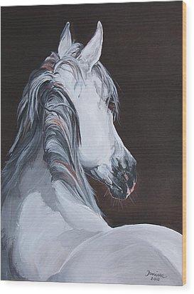 Ansata El Naseri  Wood Print by Janina  Suuronen