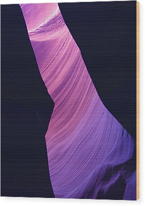 Antelope Canyon 10 Wood Print by Jeff Brunton
