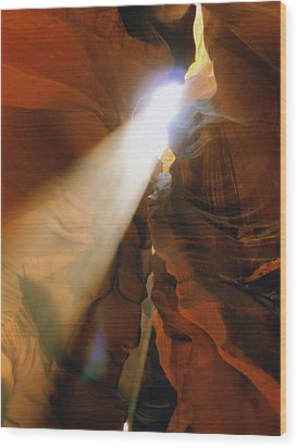 Antelope Canyon One Wood Print by Joshua House