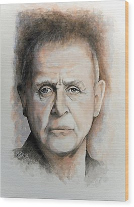Anthony Hopkins Wood Print by William Walts