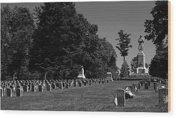 Antietam National Cemetery Wood Print