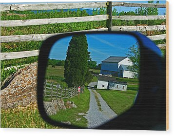 Wood Print featuring the photograph Antietam Reflections by Andy Lawless