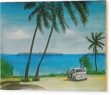 Antigua Wood Print by Frank Hunter