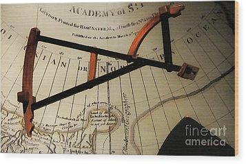 Antiquaria Nautica Wood Print by RC deWinter