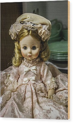 Antique Doll Wood Print
