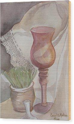 Antique Lace  Wood Print