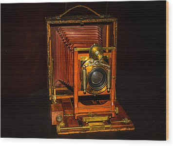 Antique Pony Premo No 6 Camera Wood Print