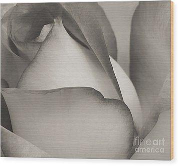 Antique Rose Wood Print by Sabrina L Ryan