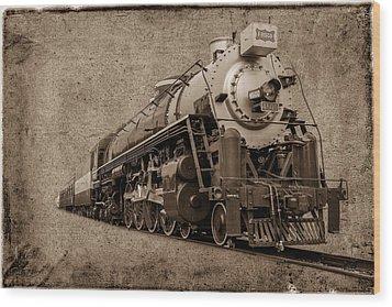 Antique Train Wood Print by Doug Long