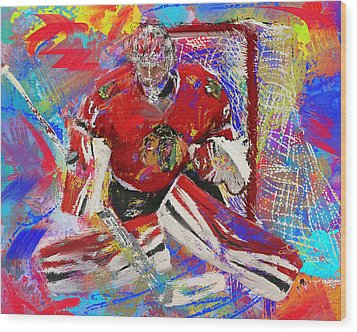 Antti Raanta Wood Print by Donald Pavlica