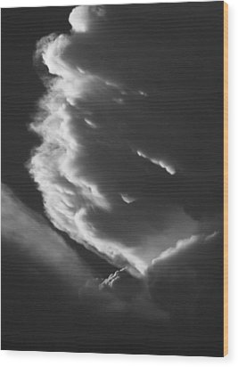 Wood Print featuring the photograph Anvil by Scott Rackers