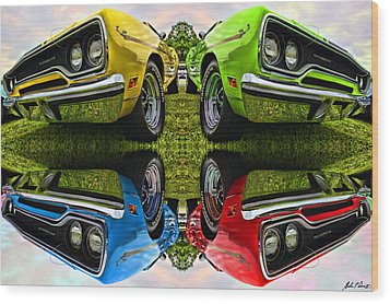 Any Flavor You Like Wood Print by Gordon Dean II
