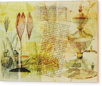 Anyone For Tea? Wood Print by Sarah Vernon
