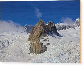 Aoraki Mount Cook Wood Print by Venetia Featherstone-Witty