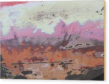 Ap24 O Wood Print by Fran Riley