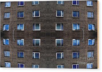 Apartments In Berlin Wood Print