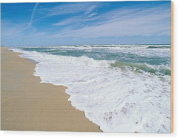 Apollo Beach Wood Print by Millard H. Sharp