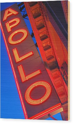 Apollo Nights Wood Print by James Kirkikis
