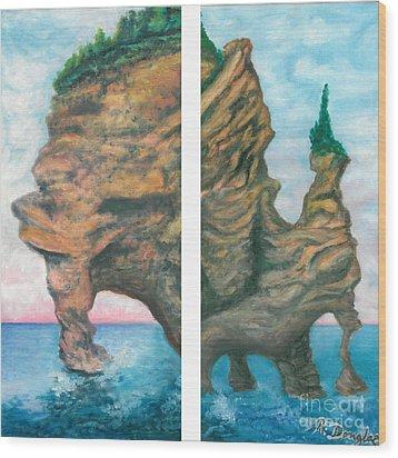 Apostle Island Wood Print