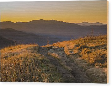 Wood Print featuring the photograph Appalachian Afternoon by Serge Skiba