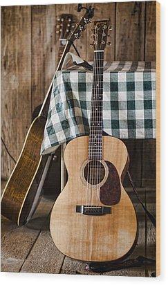 Appalachian Music Wood Print