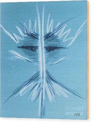 Apparition Wood Print